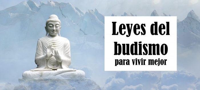 Leyes del budismo para vivir mejor