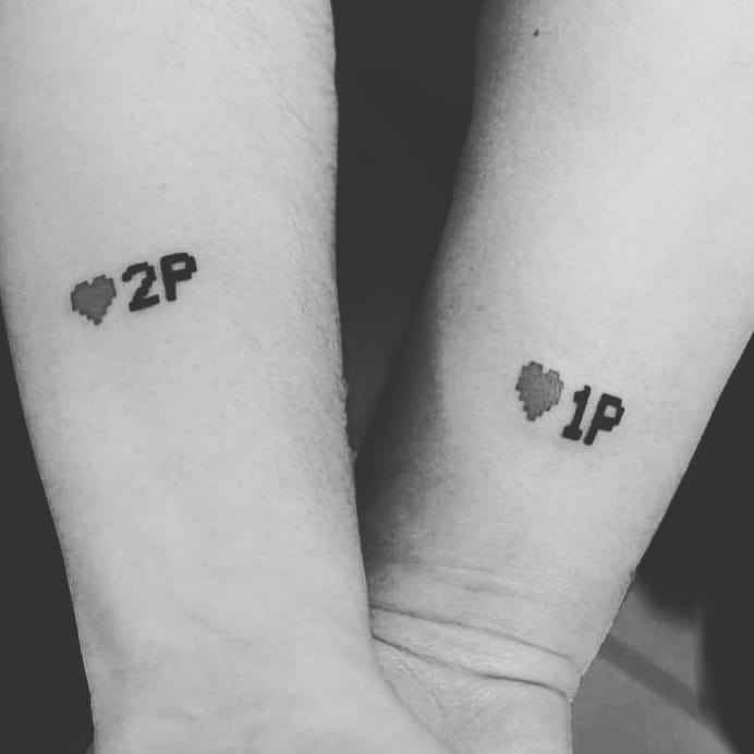 tatuaje en pareja videojuegos