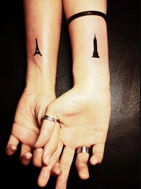 tatuajes de lugares famosos