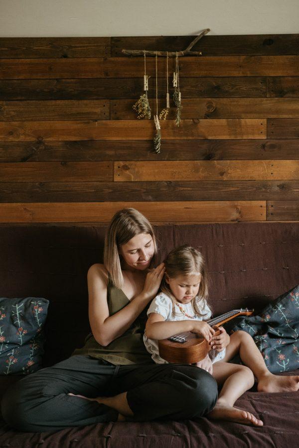 mujer con la hija