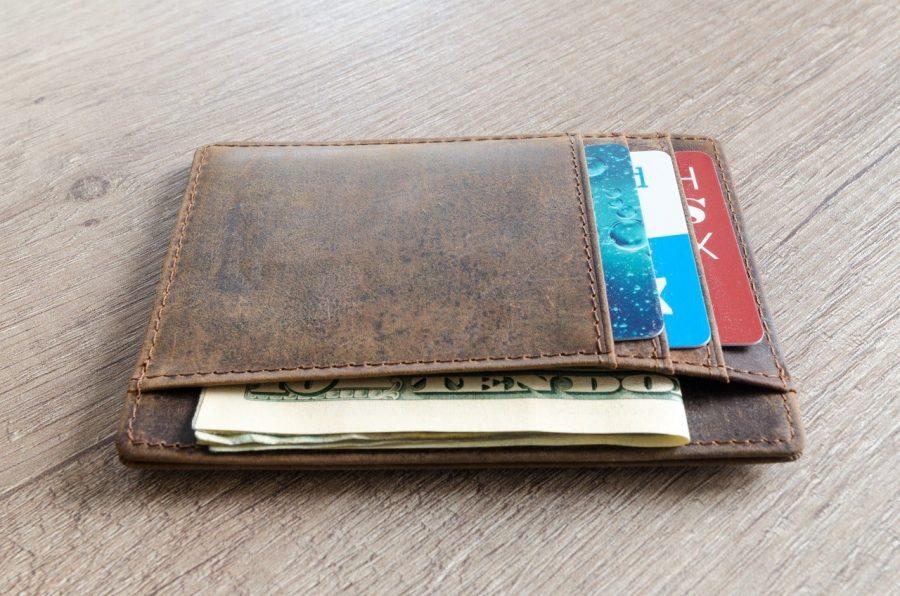 Billetera de estilo minimalista hombre