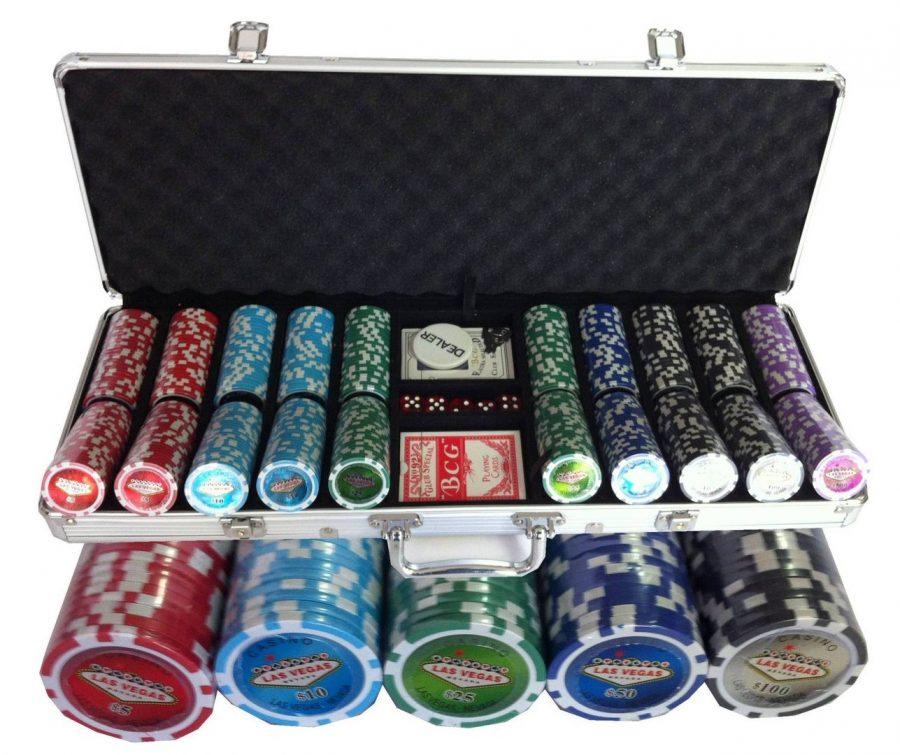 Set De Poker con fichas